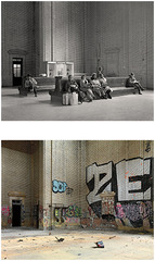 Waiting Room, Michigan Central Station, Detroit , Dave Jordano
