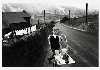 From the series Welsh Miners, Bruce Davidson