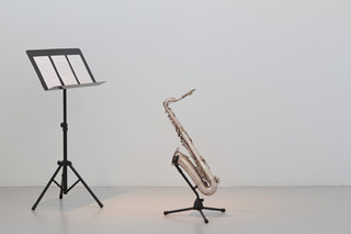 Harry plays the saxophone, from the series Which no one will ever see, Meriç Algün Ringborg