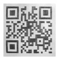 3A QR for Mieko (detail), Nancy Haynes