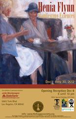 Event poster, Terri Lloyd, Henia Flynn