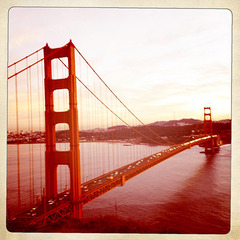Golden Gate at Sunset,Lisa Knoop