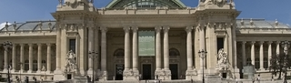 Facade of the Grand Palais ,