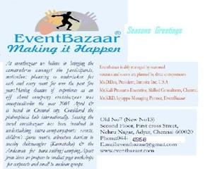 Art tour brochure, Ayyappadas, KCME