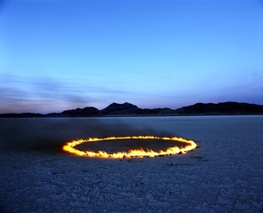 Circle of Fire in the Desert, Alfredo De Stefano