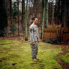 Wearing army uniform for me, Kennesaw, Georgia, Guillaume Simoneau