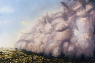 Untitled (Dust Storm II), Alexis Rockman
