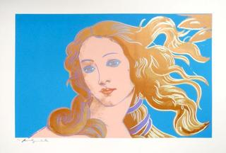 Sandro Botticelli, Birth of Venus, Andy Warhol