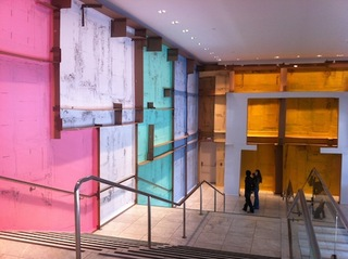 Installation view at the Hammer Museum, Los Angeles, Carlos Bunga