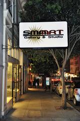 Front at night, SMAart Gallery & Studio