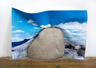 Rock Face Aqua , Letha Wilson