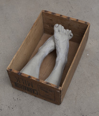 "\'Cortex, co. to Colmar\' on display as part of his solo exhibition ""Uterus"" at The Renaissance Society, Danh Vo"