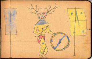 Unknown Lakota Child (Rosebud, South Dakota), Black Tailed Deer Dreamer,