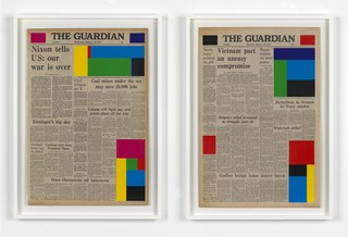 MARINE HUGONNIER Art For Modern Architecture - The Guardian 24.01.1973 and 25.01.1973  ,