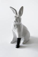 Rabbit with foot (black) , Scott Patt