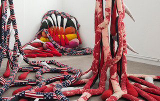 Soft Work, installation view, Sterling Ruby