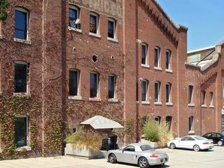 View of Brewery Annex complex,