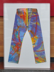 Spin Art Jeans, Damien Hirst