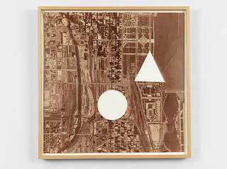 A Square of Chicago Without a Circle and Triangle , Sol LeWitt