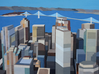 View Over The Bay, San Francisco II, Andrew Burgess