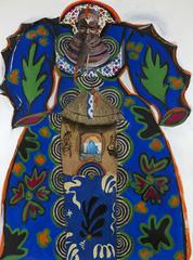 Matisse Blue Dress, Janet Taylor