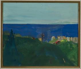 Landscape, Paul Wonner