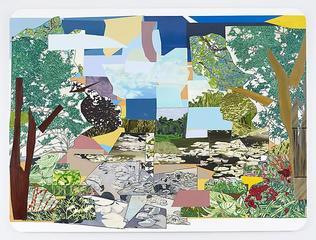 Le Jardin d\'Eau de Monet , Mickalene Thomas