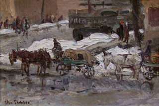 """Odessa. Winter"", ILYA SHENKER"