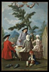 Colazione in campagna, Francesco Celebrano