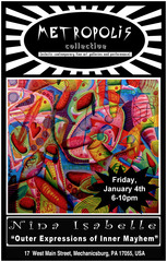 Outer Expressions of Inner Mayhem - A solo exhibition of artwork by Nina Isabelle, Nina Isabelle