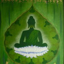 Green_buddha_with_pali_words_58x48