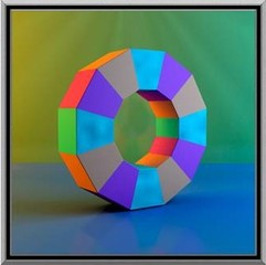 Upright Dodecagon VIII, 2012,  , Ronald Davis