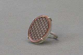 Diamond Abrasive Ring, Elizabeth Woll