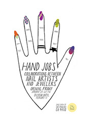 Hand Jobs Flyer, Lizzie May