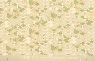 "Wallpaper sample for ""Taliesin Line"" for Schumacher , Frank Lloyd Wright"
