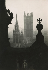 The Houses of Parliament, view from Victoria Tower, London, E.O. Hoppé