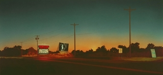 Hamptons Drive In,Howard Kanovitz