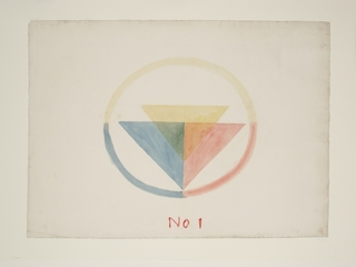 Colour Circle No.1, JMW Turner