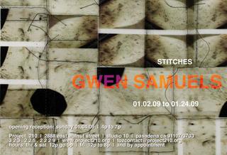 Stitches, Gwen Samuels