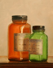 Medicine Bottles,James Edmonds