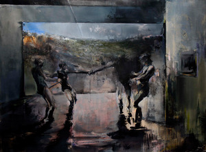 20130106082620-zsolt-bodoni_-play_-2012_-acrylic-and-oil-on-canvas_-195-x-265-cm