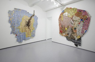 Installation view,El Anatsui