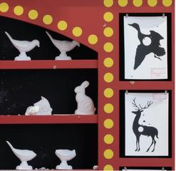 Shooting gallery, (detail), Mark Dion