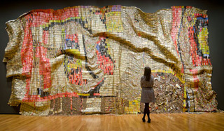 Earth's Skin,El Anatsui