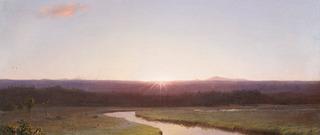 Sunrise (detail), Frederic Edwin Church