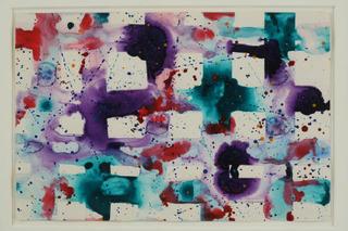 Untitled (Grid), Sam Francis