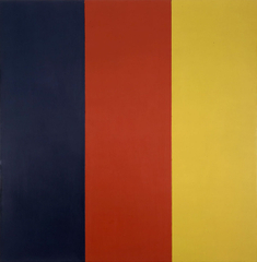 Red, Yellow, Blue III,Brice Marden