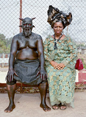 Nollywood. Chris Nkulo and Patience Umeh. Enugu, Nigeria, Pieter Hugo