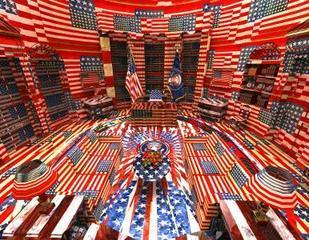 Jasper Johns Oval Office, Jon Rafman