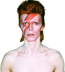 Album cover shoot for Aladdin Sane, Brian Duffy